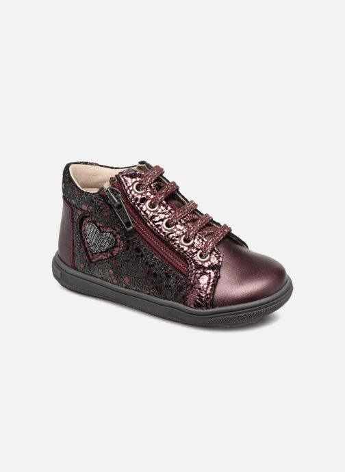 Ankle boots Bopy Regina Burgundy detailed view/ Pair view